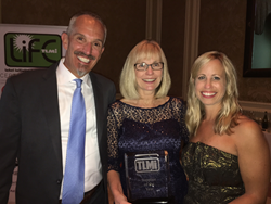 Karen Moreland and RotoMetrics Receive 2016 TLMI Supplier of the Year Award