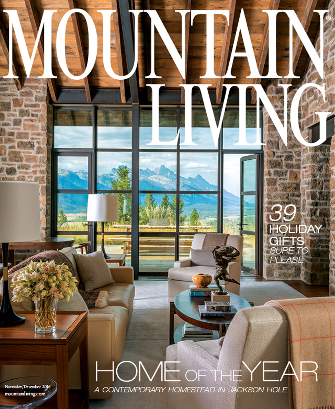 Jackson Hole Interior Design Firm WRJ Design Wins Mountain Living Magazine  Home Of The Year