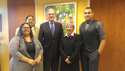 Tribal Historic Preservation Officers Meet with FCC Chairman Tom Wheeler