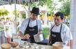 Riviera Maya Beer & Street Food Festival Chefs Preparing Food
