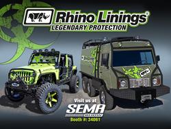 Rhino Linings at SEMA 2016