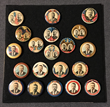 Franklin County Visitors Bureau invites all to view antique Presidential campaign buttons