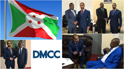 DMCC Executive Chairman meets government officials in Burundi