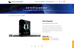Pixel Film Studios Plugin - The Feared - FCPX