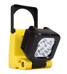 Rechargeable LED Area Light that produces 1,050 lumens of light