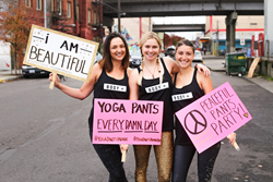 Yoga Pants Parade Supporters