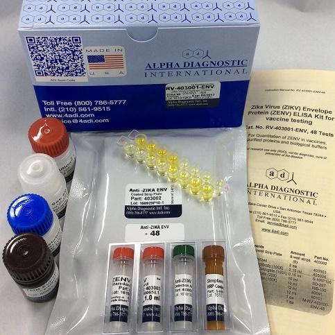 Immediate Availability of Zika Virus Antigen ELISA for Accelerating Zika Vaccine Development Efforts