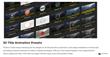 ProIntro Circles - FCPX - Pixel Film Studios Plugin