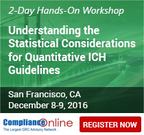 Understanding the Statistical Considerations for Quantitative ICH Guidelines