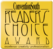 Lake Charles/Southwest Louisiana Convention & Visitors Bureau Is Honored With ConventionSouth's Annual Readers' Choice Award