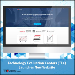 TEC Launches New Website to Help Companies Select the Right Enterprise Software Solution