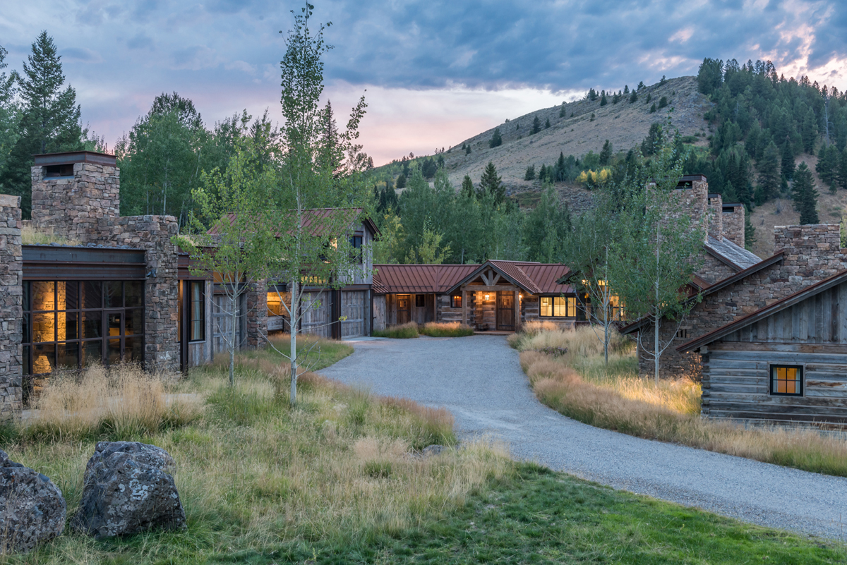 Bozeman jackson hole based jlf design build wins home of for Mountain living