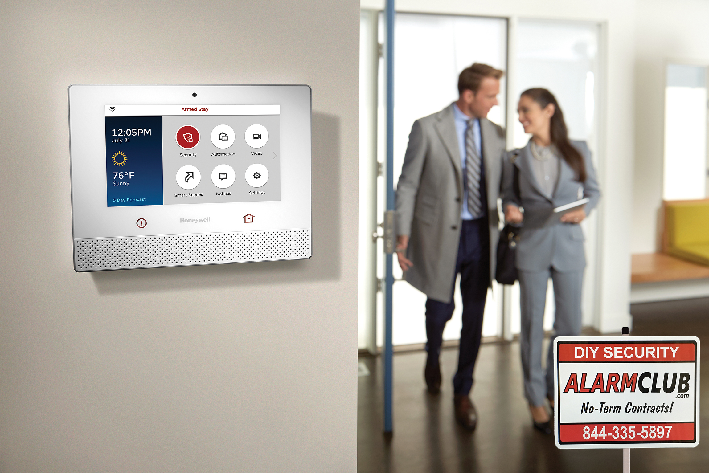 alarmclub releases honeywell lyric security system for diy home security. Black Bedroom Furniture Sets. Home Design Ideas