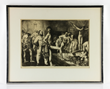 "George Bellows (American, 1882-1925), ""Business Men's Bath,"" lithograph, circa 1923, signed by the artist in pencil lower right"