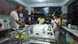 Cupping coffees for the NARSA coffee competition
