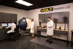 Product development activity in the VOLT® Innovation Lab.