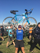 First Woman to Attempt 100 Full Distance Triathlons Races IRONMAN Florida with Children's Tumor Foundation NF Endurance Team