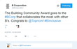 B Corporation's Tweet
