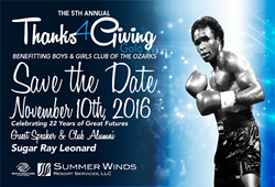 Summer Winds to Sponsor Thanks4Giving Gala