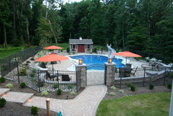 Landscaping for a Swimming Pool Lancaster PA