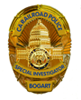 Bogart's long hidden, secret California private dick badge.