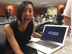 Curiate CEO, Jennifer Chen