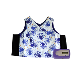 The LENA recorder and vest
