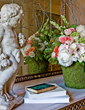 classical front entry, interior design, Boston interior designers