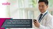 KLAS Rates Voalte Top Platform Vendor for  Improved Care Team Communication