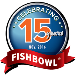 Fishbowl is celebrating its 15th anniversary.