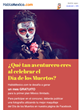 Mexican Expats Can Win a Month of Unlimited Minutes from HablaMexico.com to Call any  Number in Mexico by participating to the Día de los Muertos Facebook Contest