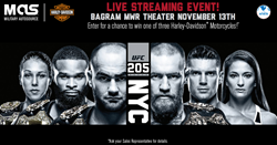 Military AutoSource UFC 205
