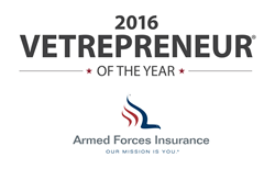 2016 Vetrepreneur® of the Year Sponsored by Armed Forces Insurance