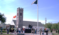 Letterkenny Chapel holds an Armed Forces Service, 9/11 Tribute Service, Veterans Day Service, and Christmas Eve Service annually.