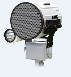 The HS-14 RAHD™ can be quickly integrated with a high intensity light, video camera, or laser dazzler.  The integrator or installer mounts the needed accessory upon the unit, reboots the RAHD, and refreshes their web browser, and the accessory is immediat