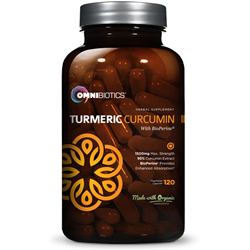 OmniBiotics new turmeric curcumin with black pepper supplement is now available for Amazon shoppers across the United States.