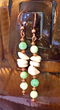 Chrysoprase Earrings from the Peace Collection by Aunt Kitty's Design