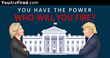 YouAreFired.com - Fire Donald Trump or HIllary Clinton with the Click of a Button