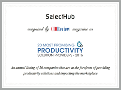 CIOReview Most Promising Business Productivity Tool 2016 Award