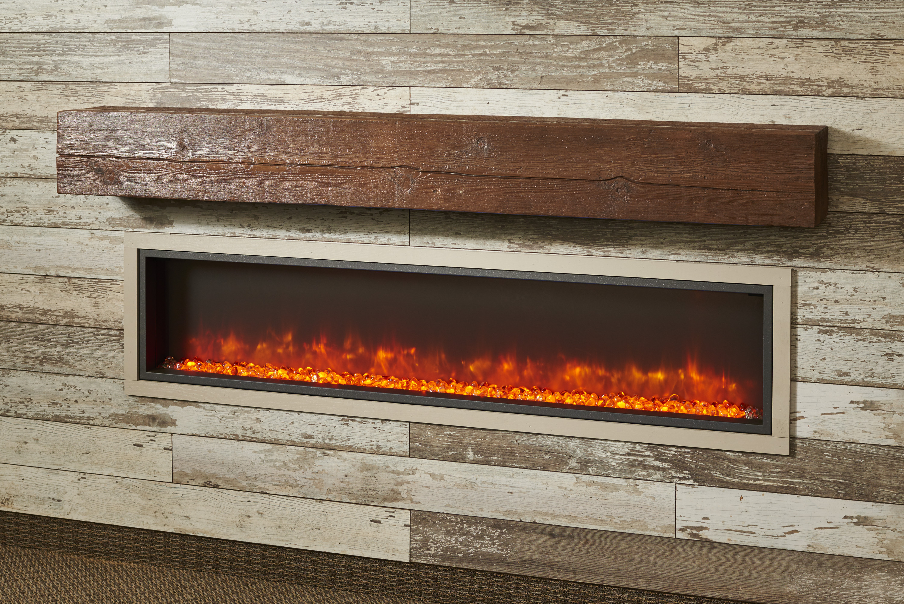 Product Update Modern Electric Fireplace Addition
