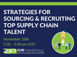 SCM Talent Group Launches New Webinar Series To Combat The Supply Chain Talent Shortage