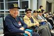 MIA Hosts Honor Flight for 78 World War II Veterans