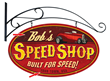 Speed Shop Personalized Sign