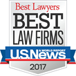 """U.S. News & World Report and Best Lawyers Recognize Exall & Wood in 2017 """"Best Law Firms"""" Rankings"""