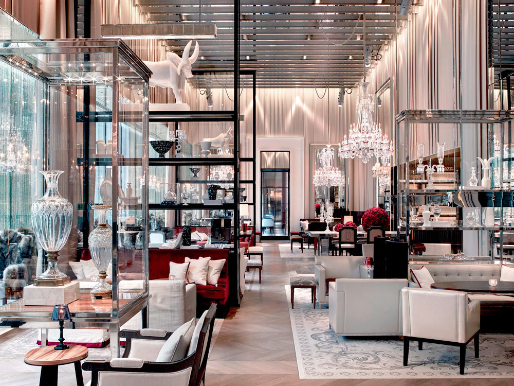 Private concierge firm m level hosts an exclusive event at for Salon baccarat