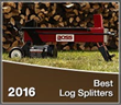 Top Log Splitters of 2016 Released by Log Splitters Direct
