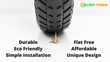 A Cyclist's Dream Comes True with Flat-Free Bike Tires, Cruising Past Kickstarter Goal with Innovative Air-Less and Tube-Less Way to Ride Worry Free