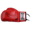 Mike Tyson & Evander Holyfield Dual Signed Single Boxing Glove