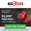 FxGiants Launches First Ever Demo Trading Competition With USD 5,000 Prize Pool