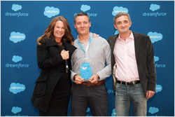 makepositive win Salesforce Partner Innovation Award